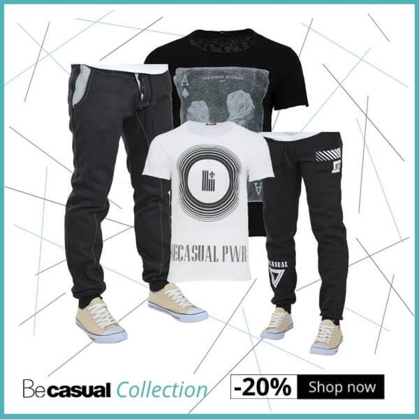 Εκπτωτικό Κουπόνι Be-casual -20%