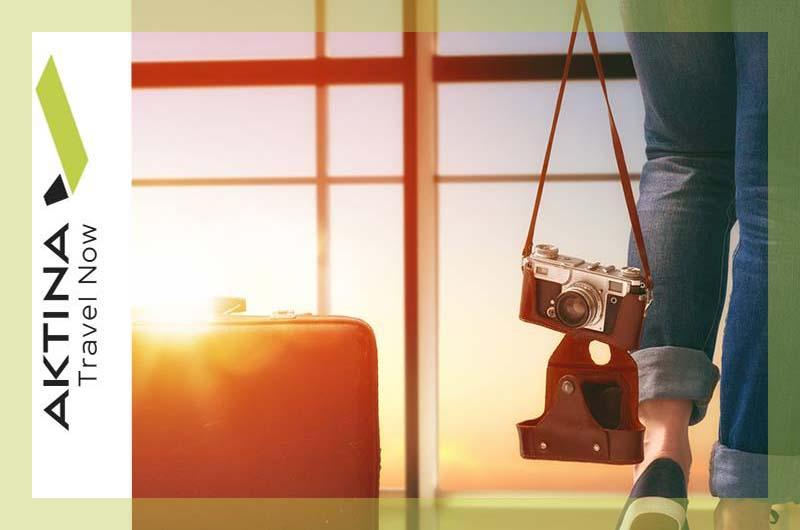 Κωδικός έκπτωσης -15€ από το Aktina Travel Now