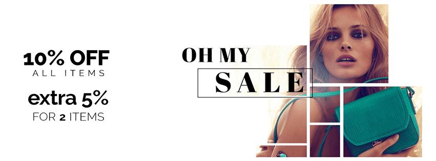 Oh my Sale! 10ήμερο Εκπτώσεων στο Brandbags!