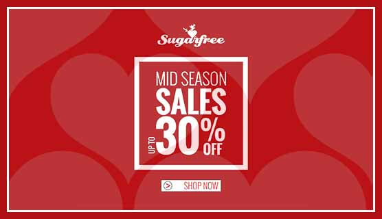 Sugarfree Εκπτώσεις έως 30%